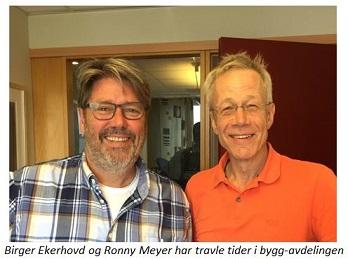Ronny og Birger med undertekst lite bilde